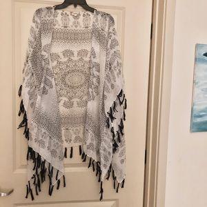 Other - 3/$25 Sheer Boutique Boho Kimono Mandala Design